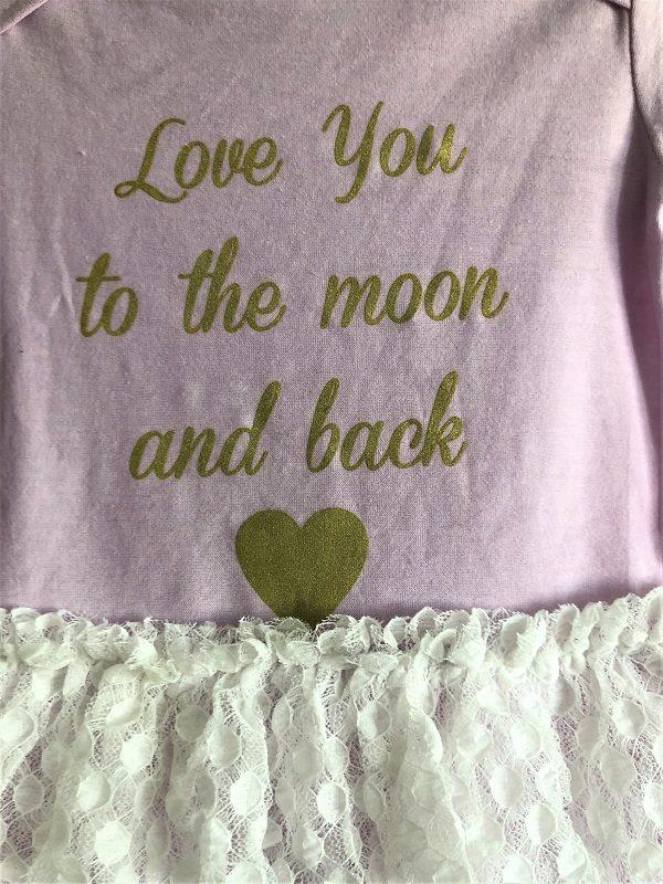 41ae96853a3 Seelikuga body LOVE YOU TO THE MOON AND BACK : Alexandrina